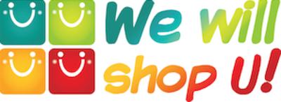 We Will Shop U Logo
