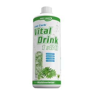 Best Body Nutrition Vital Drink Waldmeister 1000ml Flasche