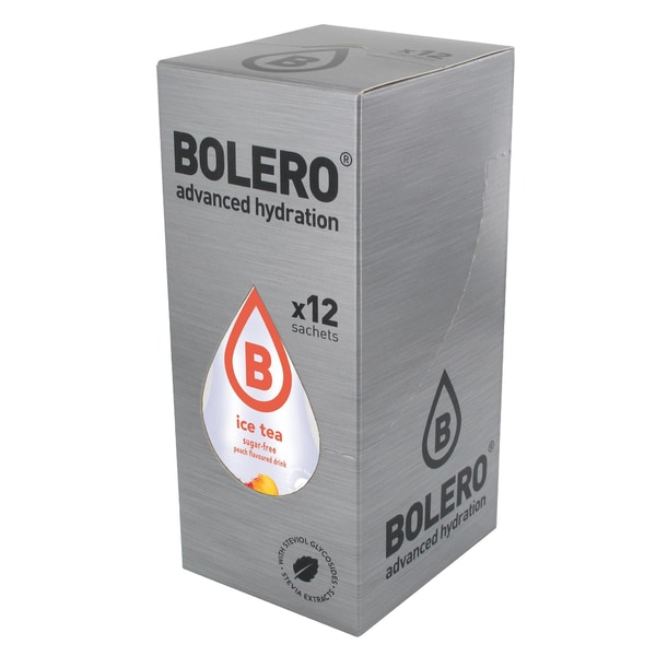 Bolero Drinks ICE TEA Peach (Pfirsich) 12 x 9g