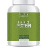 Nutri-Plus Shape & Shake Vegan Erbsen Reisprotein Neutral 1000g Dose
