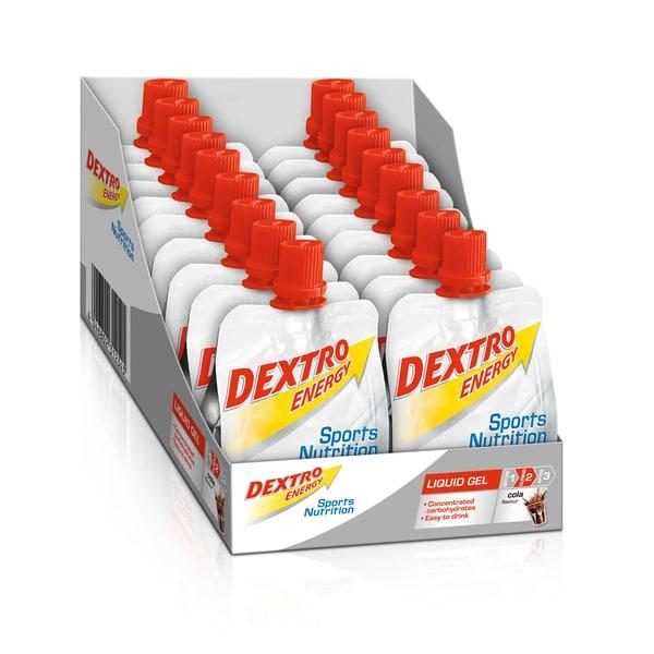 Dextro Energy Kirsche + Koffein Liquid Gel 18 x 60ml