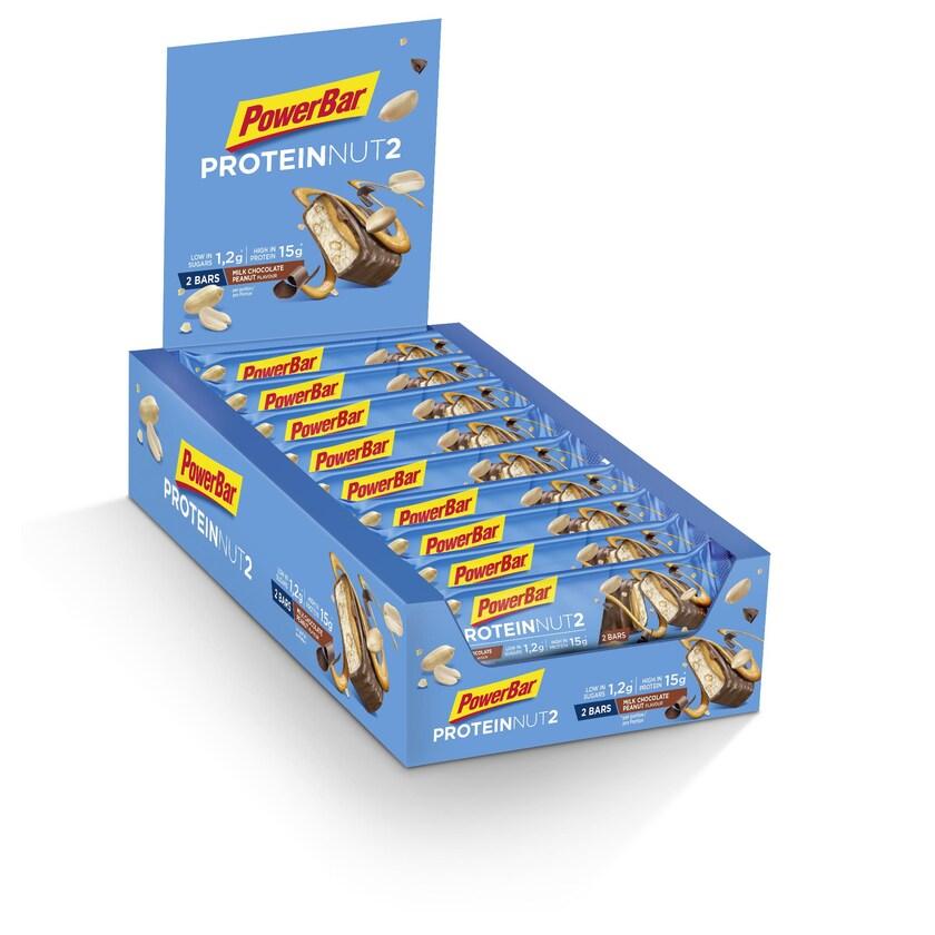 Powerbar ProteinNut2 Milk Chocolate Peanut 18 x 45g Riegel