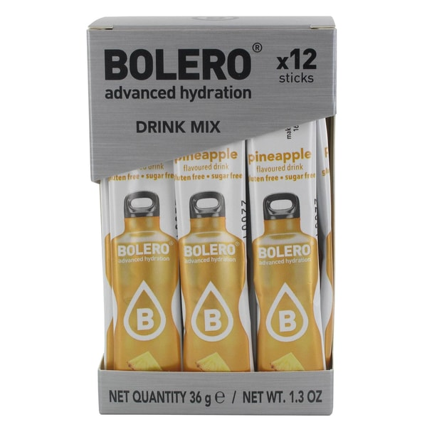 Bolero Sticks Pineapple (Ananas) 12 x 3g Beutel