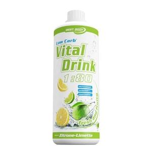 Best Body Nutrition Vital Drink Bitter Lemon 1000ml Flasche