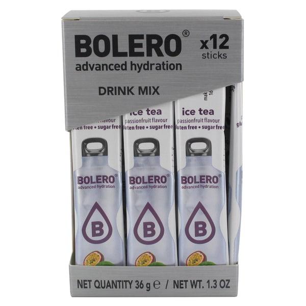Bolero Sticks ICE TEA Passion Fruit (Passionsfrucht) 12 x 3g Beutel