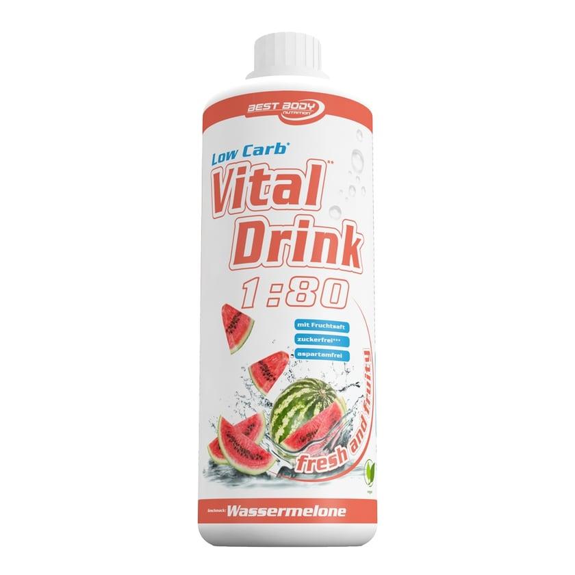 Best Body Nutrition Vital Drink Wassermelone 1000ml Flasche