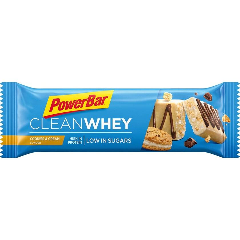 Powerbar Clean Whey Cookies & Cream 1 x 45g Riegel