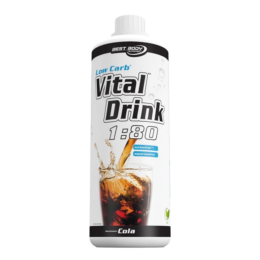 Best Body Nutrition Vital Drink Cola 1000ml Flasche