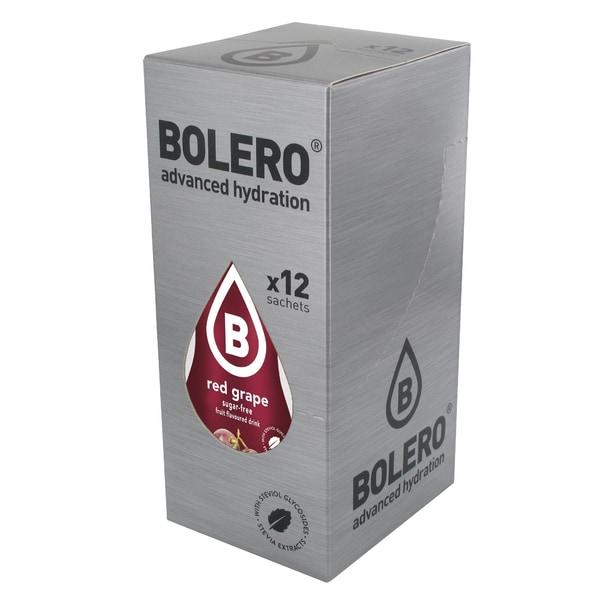 Bolero Drinks Red Grape (Rote Traube) 12 x 9g