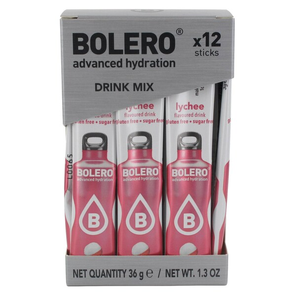 Bolero Sticks Lychee 12 x 3g Beutel
