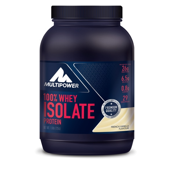 Multipower 100% Whey Isolat Vanille 725g Dose