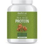 Nutri-Plus Shape & Shake Vegan Erbsen Reisprotein Karamell 1000g Dose