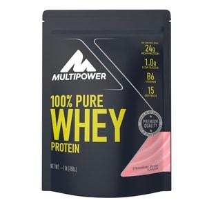 Multipower 100% Whey Protein Erdbeere 450g Beutel