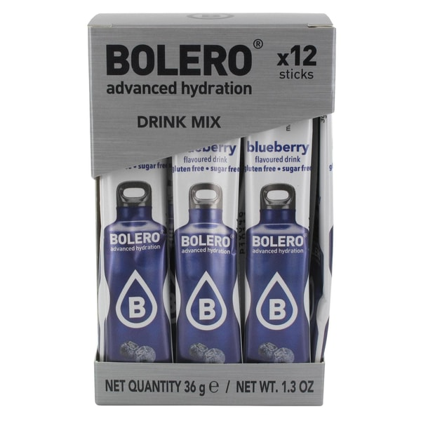 Bolero Sticks Blueberry (Blaubeere) 12 x 3g Beutel