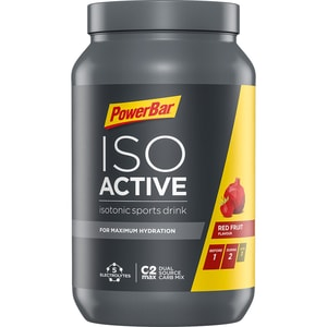 Powerbar IsoActive Sports Drink Red Fruit Punch 1320g Dose