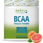 Nutri-Plus Vegan Sports BCAA Pulver Grapefruit 300g Dose