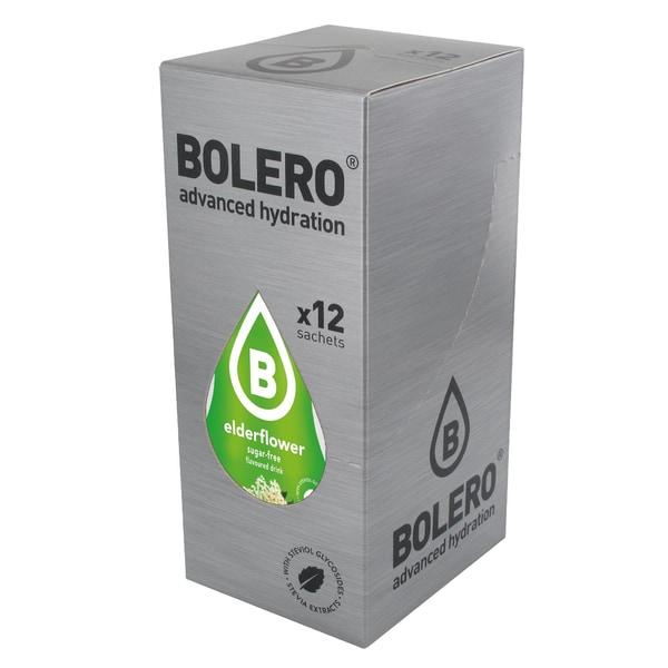 Bolero Drinks Elderflower (Holunder) 12 x 9g