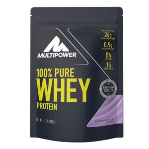 Multipower 100% Whey Protein Blaubeere 450g Beutel