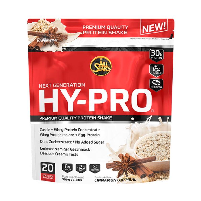 All Stars HY-PRO 85 Cinnamon Oatmeal 500g Beutel