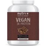 Nutri-Plus Shape & Shake Vegan 3K Protein Schokolade 1000g Dose