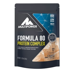 Multipower Formula 80 Protein Complex Cookies & Cream 510g Beutel