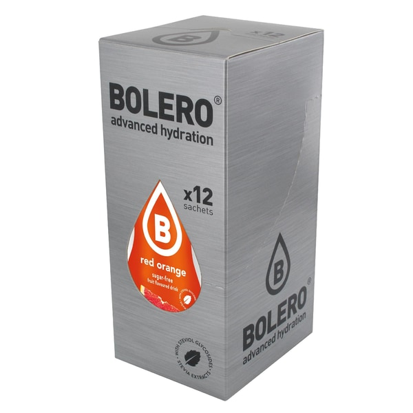 Bolero Drinks Red Orange (Blutorange) 12 x 9g