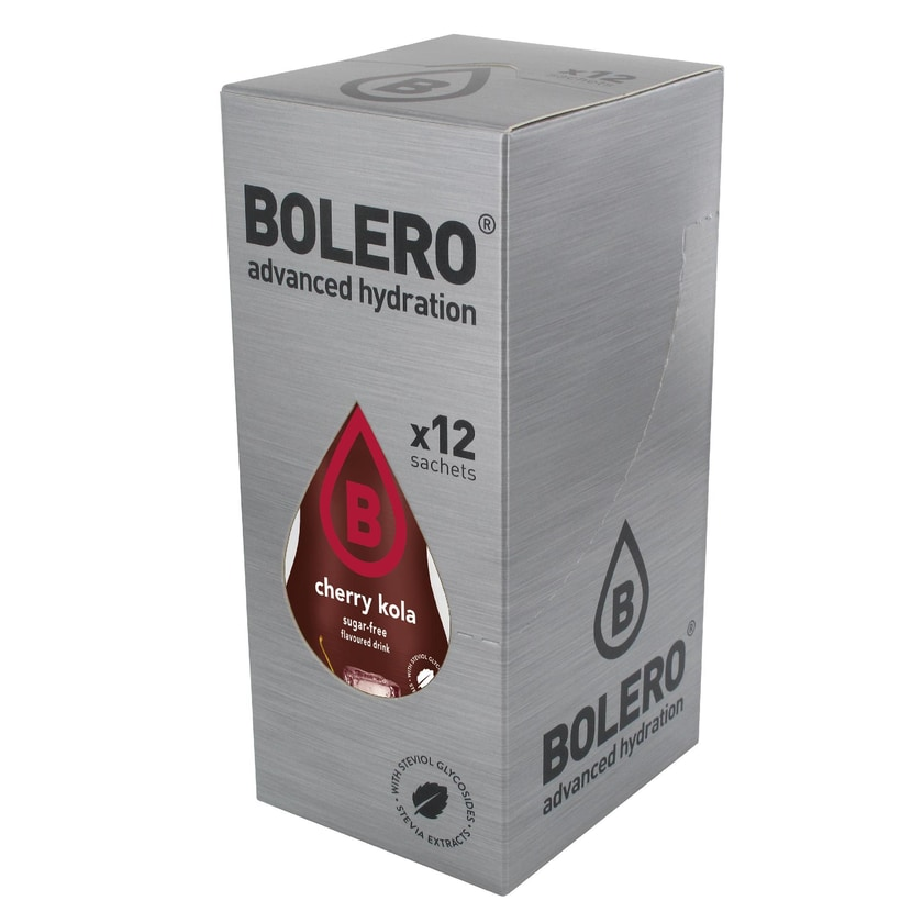 Bolero Drinks Cherry Cola (Kirsche Cola) 12 x 9g