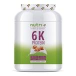 Nutri-Plus Shape & Shake Vegan 6K Protein Salted Caramel 1000g Dose