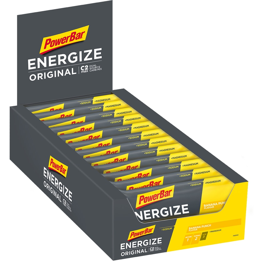 Powerbar Energize Bar Banana Punch 25 x 50g Riegel