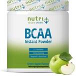 Nutri-Plus Vegan Sports BCAA Pulver Grüner Apfel 300g Dose