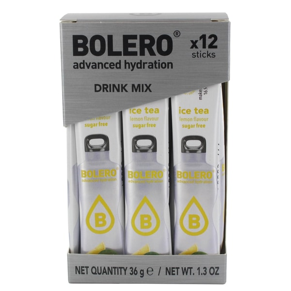 Bolero Sticks ICE TEA Lemon (Zitrone) 12 x 3g Beutel