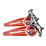 1. FC Köln Haarspangen 2er-Pack