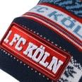 1. FC Köln Beanie Bommel rot/blau
