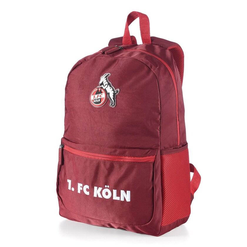 1. FC Köln Schul- & Freizeitrucksack bordeaux