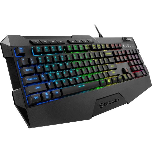 Sharkoon Gaming-Tastatur SKILLER SGK4 US-Layout