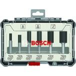 Bosch Nutfräser-Set, 6-teilig