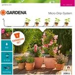 Gardena Micro-Drip-System Erweiterungsset Pflanztöpfe, 16-teilig