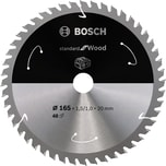 Bosch Kreissägeblatt Standard for Wood, 165mm