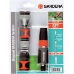 Gardena Grundausstattung Schlauchanschluss, mit Reinigungsspritze