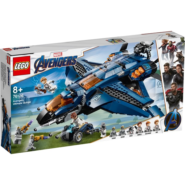 LEGO Marvel Super Heroes Ultimativer Avengers-Quinjet