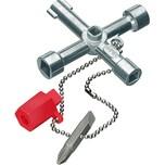 Knipex Steckschlüssel Schaltschrank-Schlüssel 00 11 03