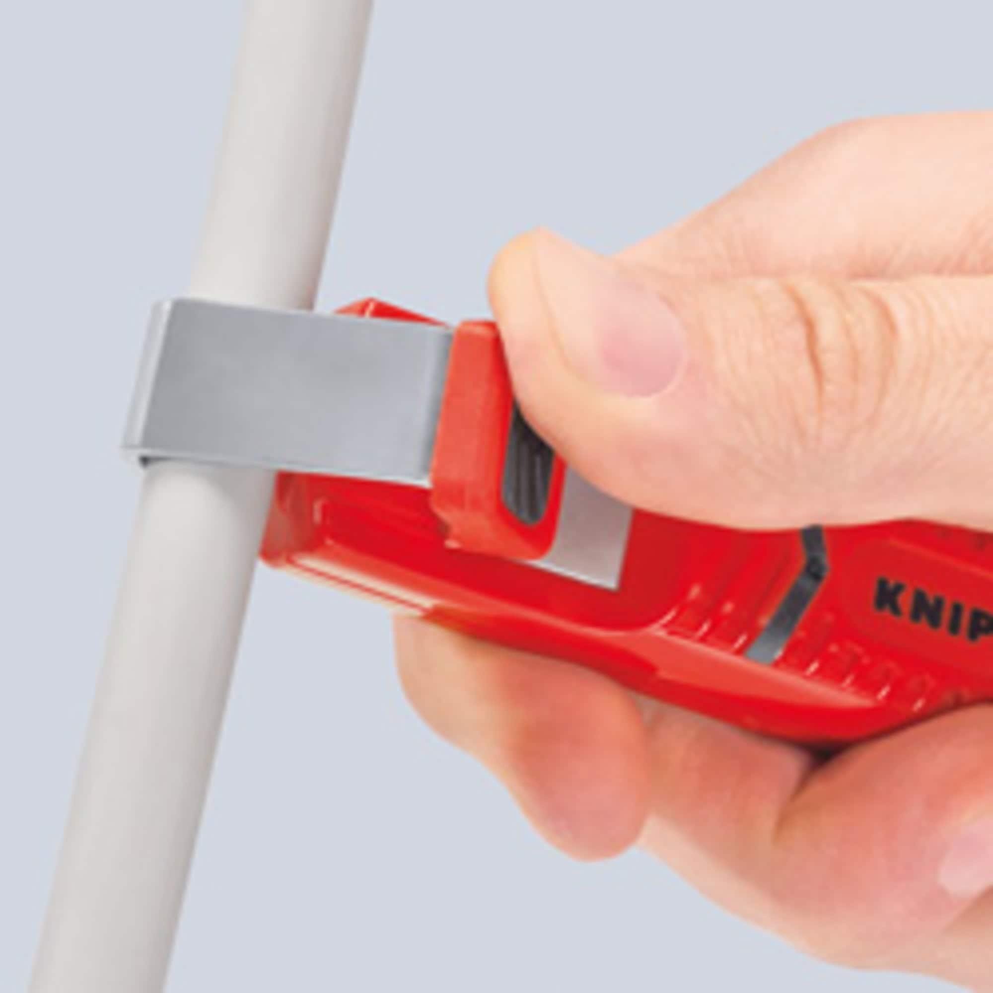 Knipex Abisolier-/ Abmantelungswerkzeug Abmantelungswerkzeug 16 20 165 SB
