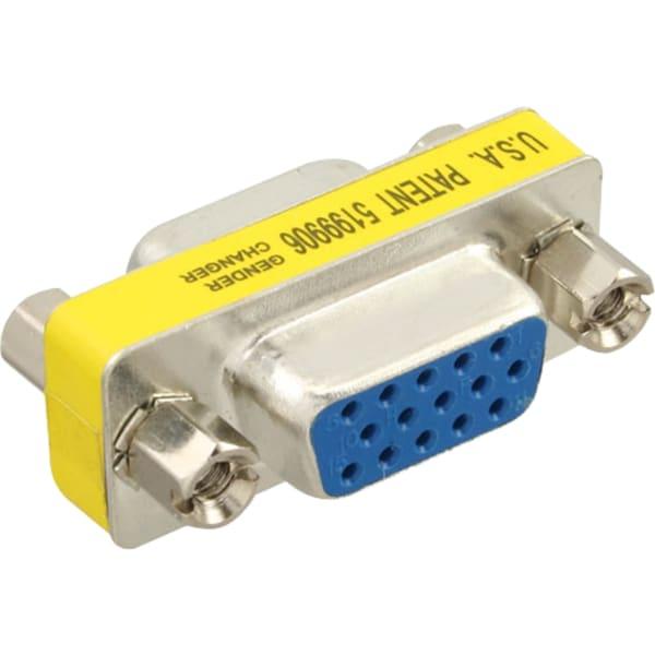 InLine Gender-Changer VGA 15pol HD Buchse/Buchse