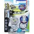 Hasbro Geschicklichkeitsspiel Beyblade Burst SlingShock Dual Pack Leopard L4 und Jormuntor J4