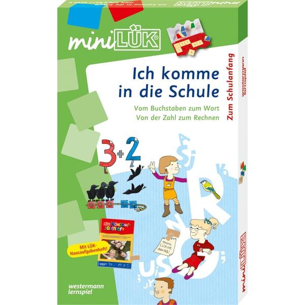Westermann Lernbuch miniLÜK-Set - Ich komme in die Schule