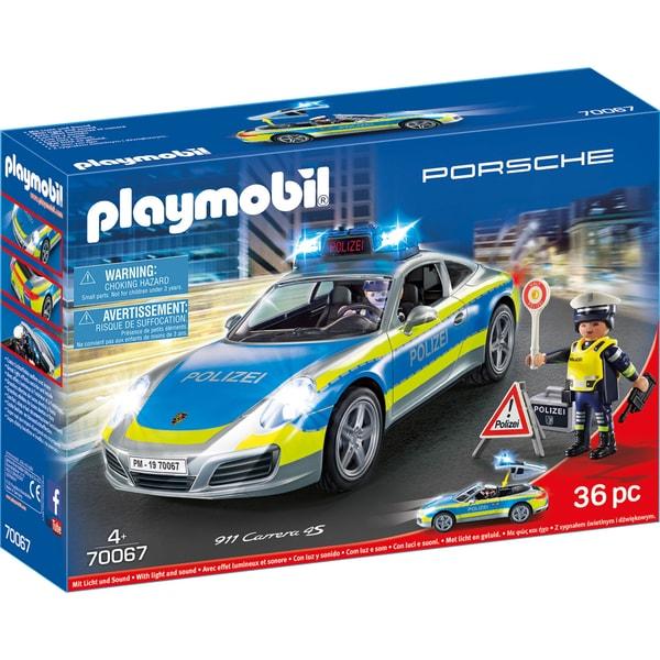 Playmobil Porsche 911 Carrera 4S Polizei