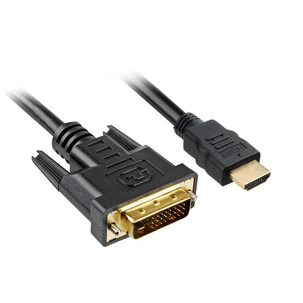 Sharkoon Adapter Adapterkabel HDMI > DVI-D 2m