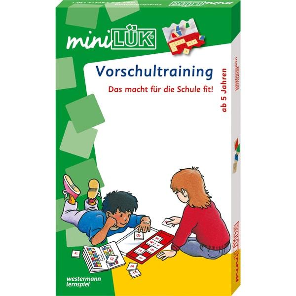 Westermann Lernbuch miniLÜK-Set - Vorschultraining