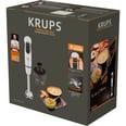 Krups Stabmixer Perfect Mix 5000 Plus silber/weiß Edelstahl Turbofunktion Pürieren/Zerkleinern