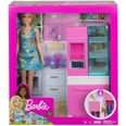 mattel Barbie Deluxe-Set Möbel Kühlschrank & (blond)